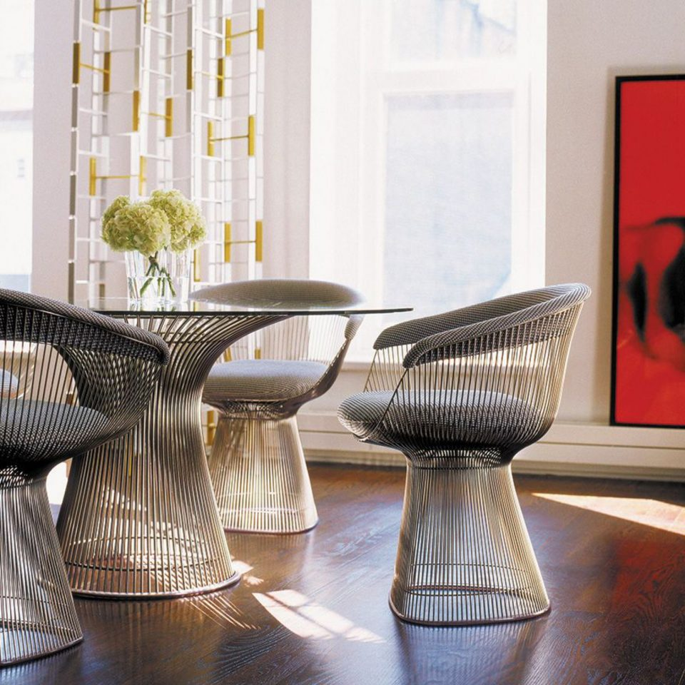 Table en verre Warren Platner