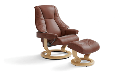 Fauteuil Relaxation Live Signature Cuir  1