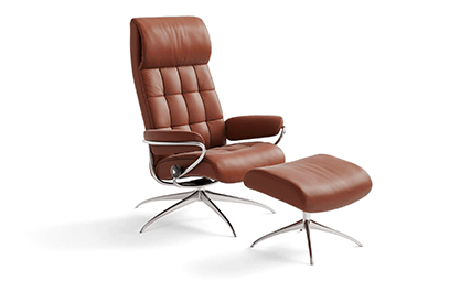 Fauteuil Relaxation London High Back Standard Base 2