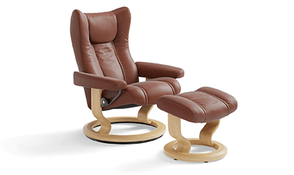 Fauteuil Relaxation Wing Classic LegComfort 1