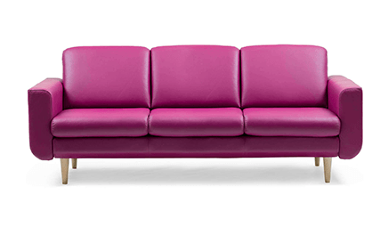 Canape Relaxation Stressless Joy 3 Places Complet Duo 1