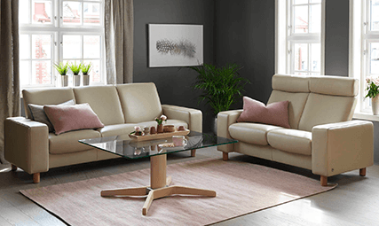Canape Relaxation Stressless Pause 3 Places Bas 2