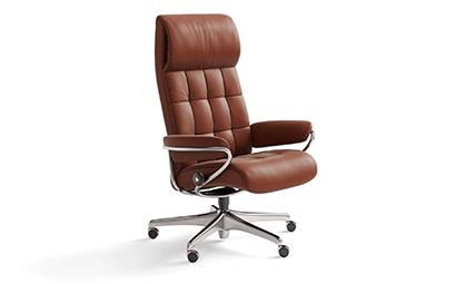 Fauteuil Relaxation London High Back Standard Base 1