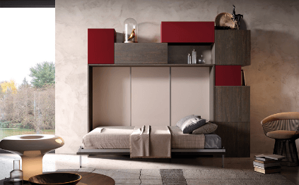Armoire Lit Design Lucy