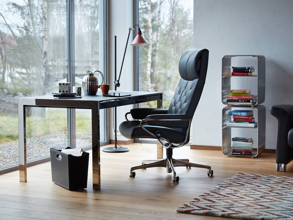 Fauteuil_Bureau_Inclinable_Stressless_Office_Metro_Store_Paris_1