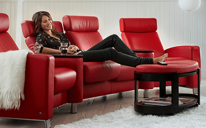 Canape Relaxation Stressless Arion 3 Places Haut