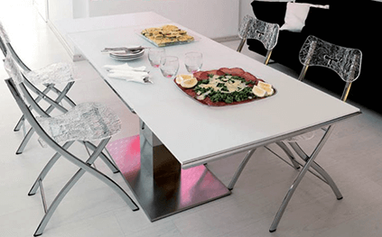 Table Extensible E-Motion Relevable