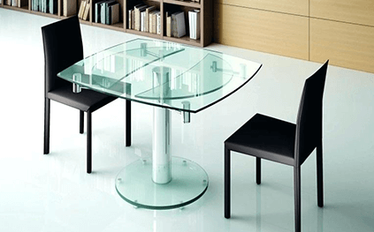Extra Table En Verre