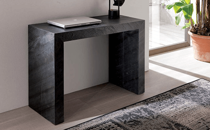 Table Console Extensible Glass