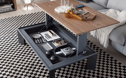 Table Plateau Relevable Metrino