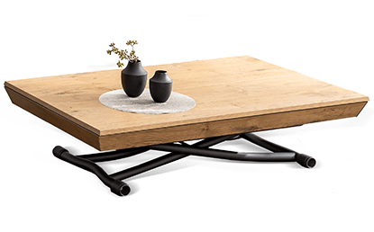 Table basse relevable extensible Piu Piu