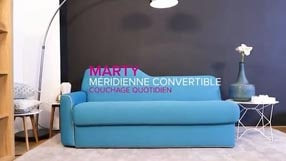 Méridienne convertible design