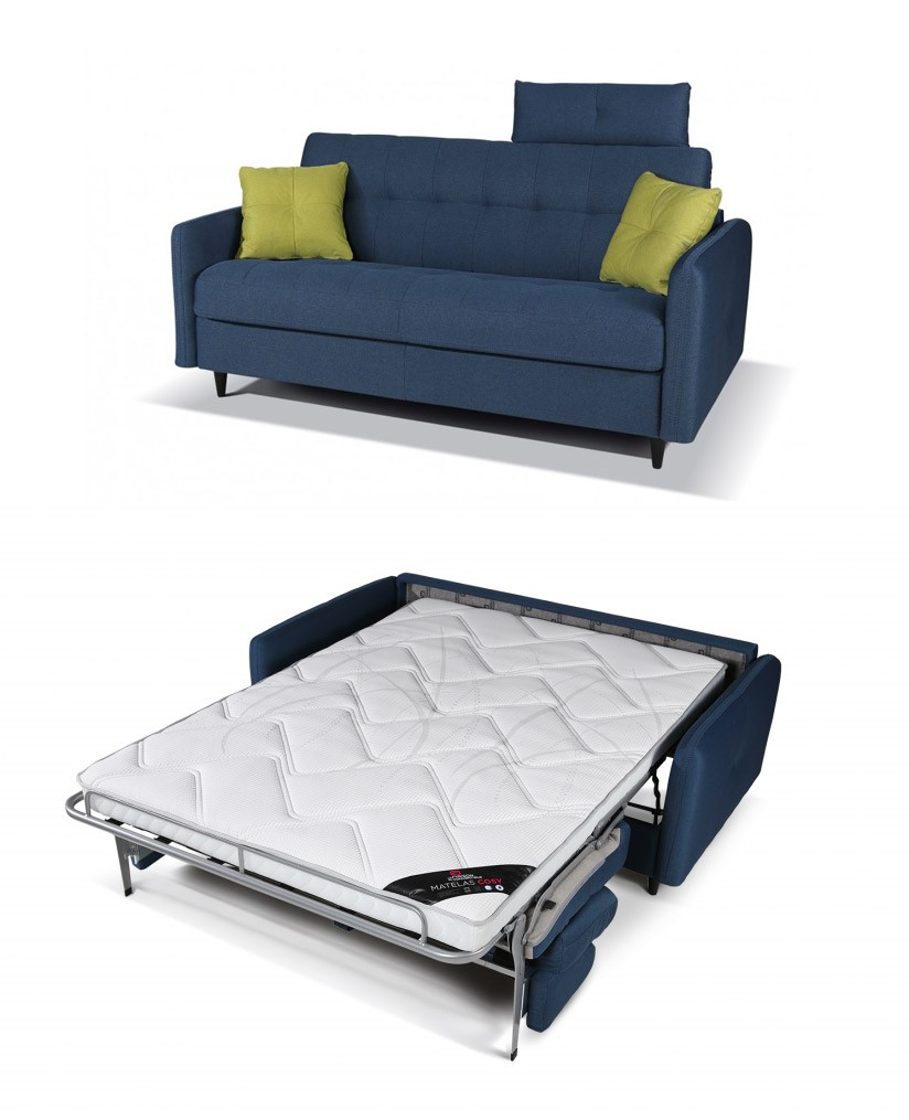 Canape lit le guide for Canape convertible avec tapis original