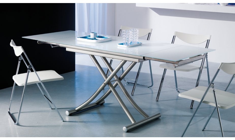 Tables et consoles relevables ou extensibles le guide - Table de salon relevable et extensible ...